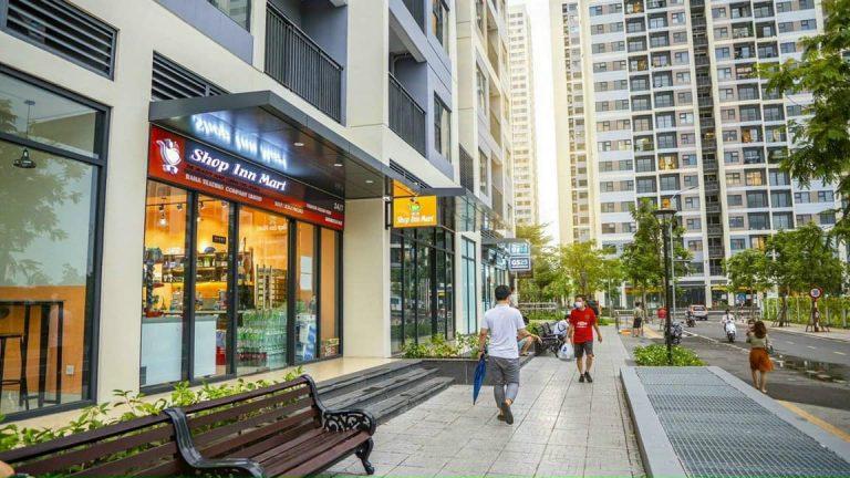 Shophouse tại phân khu Raibow Vinhomes Grand Park