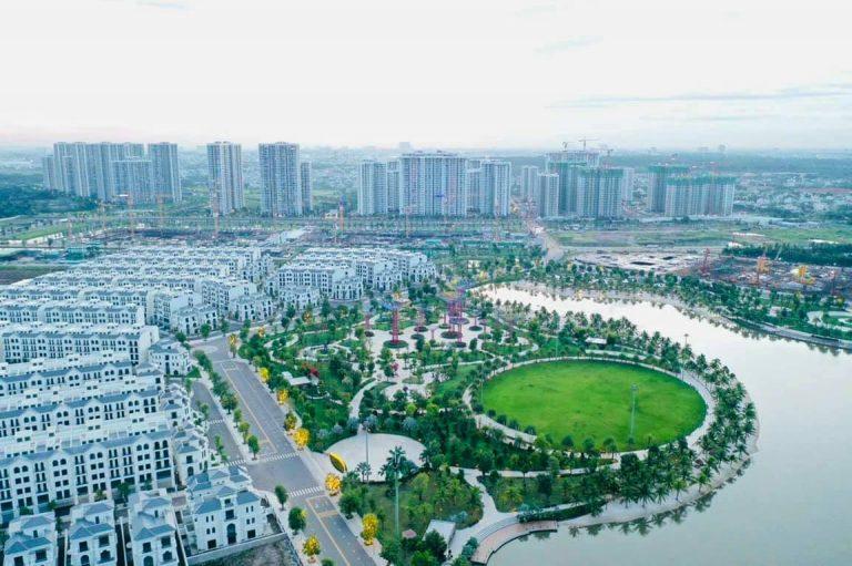 Thực tế xây dựng Vinhomes Grand Park
