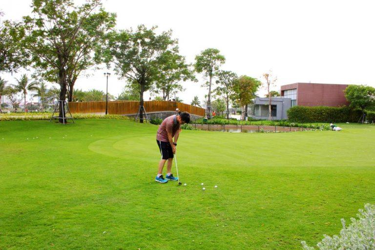 Sân golf biệt thự VInhomes Central Park