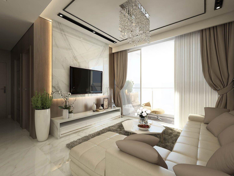 Cho thuê căn hộ Sunwah Pearl 3 phòng ngủ