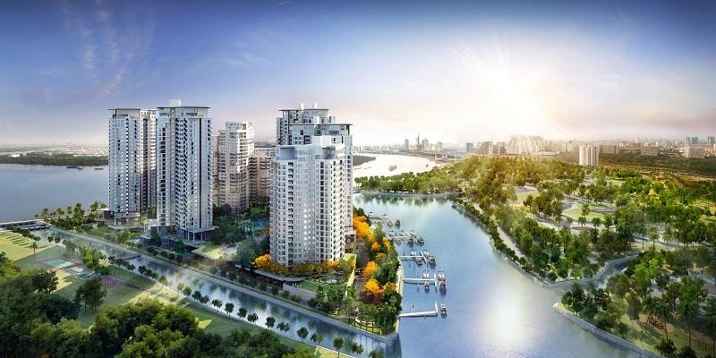 Cho thuê căn hộ Đảo Kim Cương Quận 2
