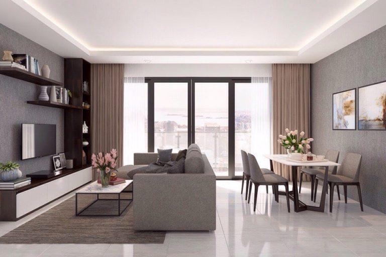 Thiết kế căn hộ Đảo KIm Cương