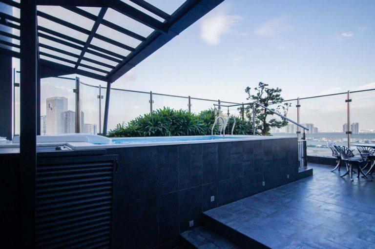 Căn Sky Villa - Penthouse Landmark 81