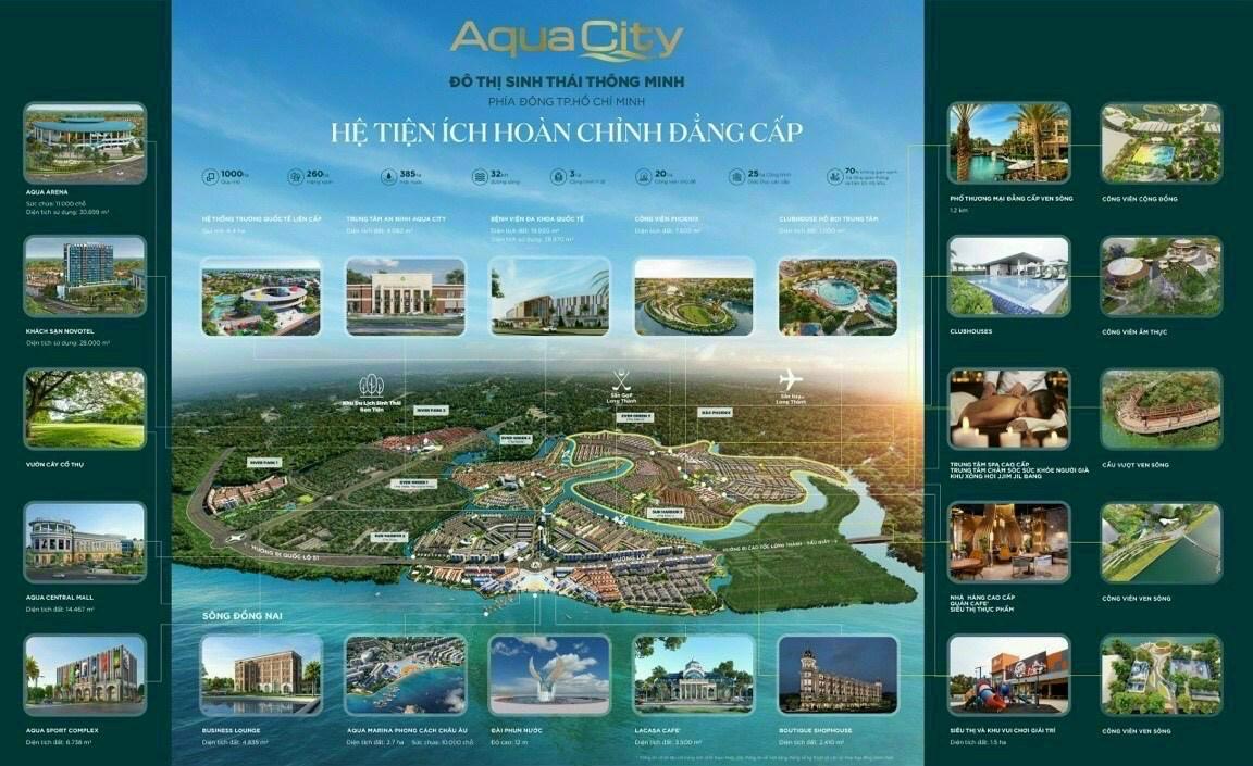 Tiện ích đầy đủ Aqua City