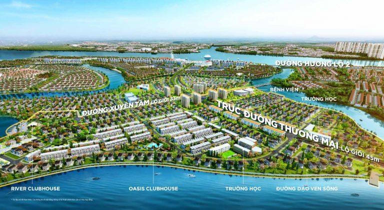 Vị trí Aqua City Biên Hòa - Đồng Nai